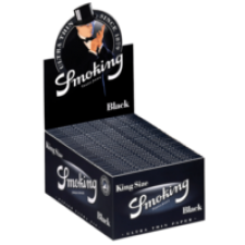 Smoking Black King Size 110mm Rolling Papers Box (50 Packs)