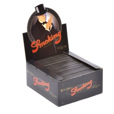 Smoking Deluxe King Size 110mm Rolling Papers Box of 50 packs