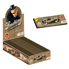 Smoking Organic 1 1/4 Rolling Paper Box of 25 Packs