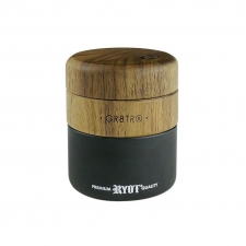 Ryot GR8TR Wood and Glass Herb Grinder