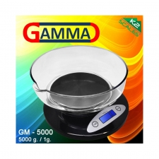 K2 Gamma Electronic Digital Kitchen Scale 5000g x 1g