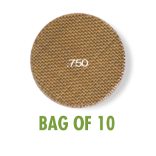 Heavy Duty Brass Screen .750 - Bag of 10