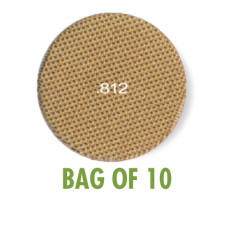 Heavy Duty Brass Screen .812 - Bag of 10