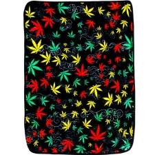 3D Weed Jumble Fleece Blanket 50X60