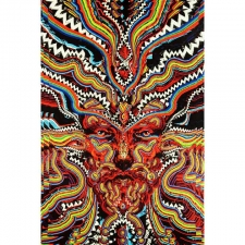 3D Bicycle Day By Jake Kobrin Tapestry - BedSheet 60x90