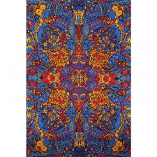 3D Psychedelic Liquid A Tapestry - BedSheet 60x90