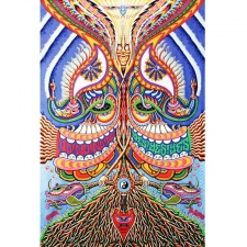 3D Yes Yes Yes No No No by Chris Dyer Tapestry - BedSheet 60x90