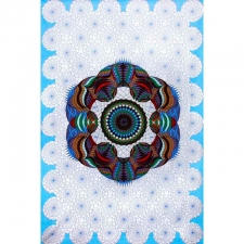 Love Lotus by G Scott B Tapestry - BedSheet 60x90