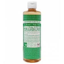Dr. Bronner's All-in-one Hemp Almond Liquid 237ml Pure-castile Soap
