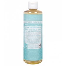 Dr. Bronner's All-in-one Hemp Baby Liquid 237ml Unscented Pure-castile Soap