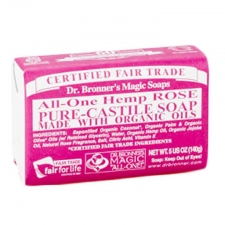 Dr. Bronner's All-in-one Hemp Rose Pure-castile Soap