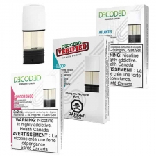STLTH DECODED Nicotine Salt Pods - Pack of 3