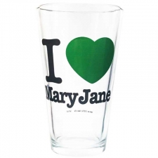 I Love MaryJane Pint Glass from StonerWare