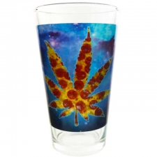Pizza Leaf Pint Glass from StonerWare