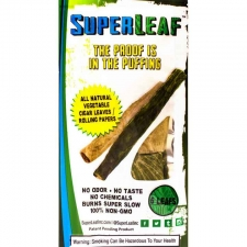 SuperLeaf Organic Vegetable cigar rolling leaf - 6 Pack
