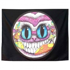 Cheshire Cat by Sean Dietrich Art Tapestry - 30 x 40