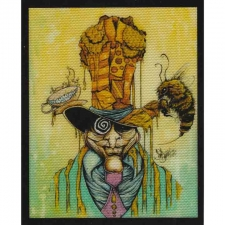 Honey Hatter by Sean Dietrich Art Tapestry