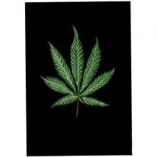 Fleece Throw - Leaf