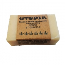 Utopia's Cedar and Clove Hemp Soap Bar