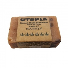 Utopia's Vanilla Beans Hemp Soap Bar