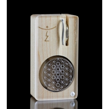Magic Flight Launch Box Laser Etched kabbalah Tree of Life Maple Wood Portable Vaporizer